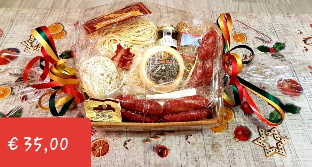salumi e formaggi, prodotti tipici di norcia, cesti regalo